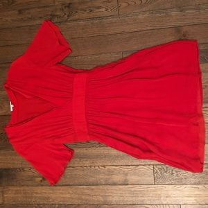 Wilfred size 4 mini dress empire waist
